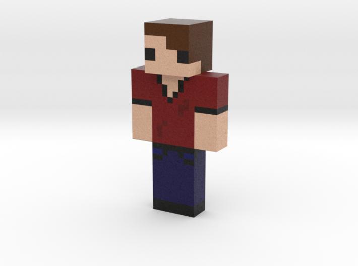 ErasableRex Skin   Minecraft toy 3d printed