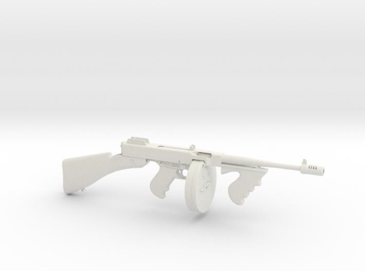 1/3 Scale 1928 Thompson Submachine Gun 3d printed