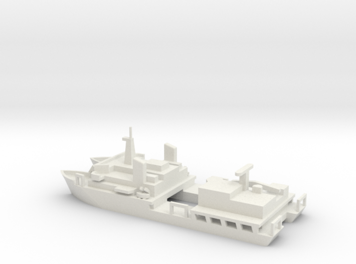 1/700 Scale USNS Hayes T-AG-195 3d printed