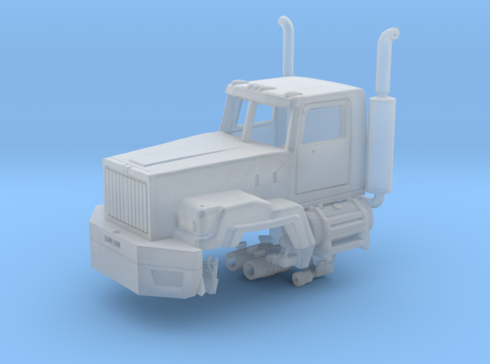 Western Star 6900 With Exhaust Parted 1-87 Scale 3d printed