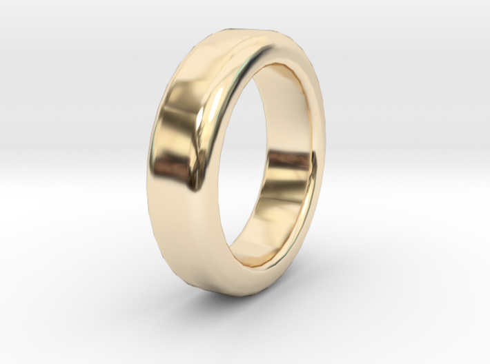 Simple Ring - Size A (UK) 3d printed