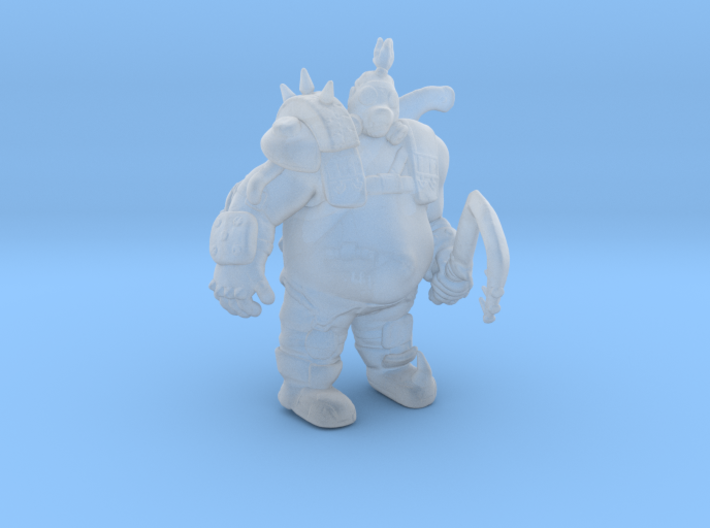 Overwatch Roadhog 1/60 miniature for games and rpg 3d printed