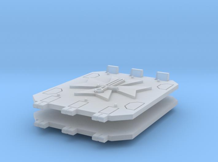 Commission 101 Jericho tank doors #2 3d printed