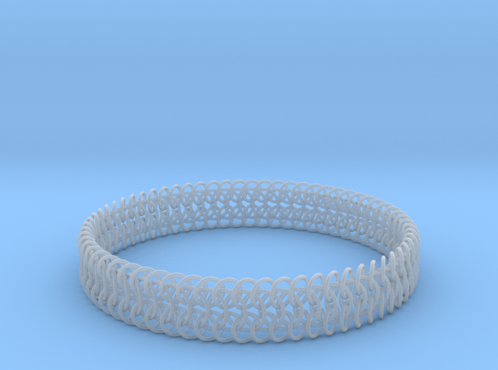 Euro 6-in-1 Chainmail Bracelet A 3d printed