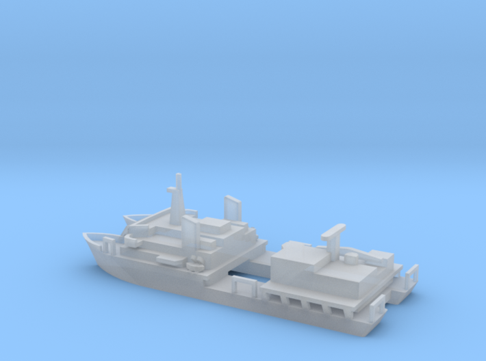 1/1250 Scale USNS Hayes T-AG-195 3d printed