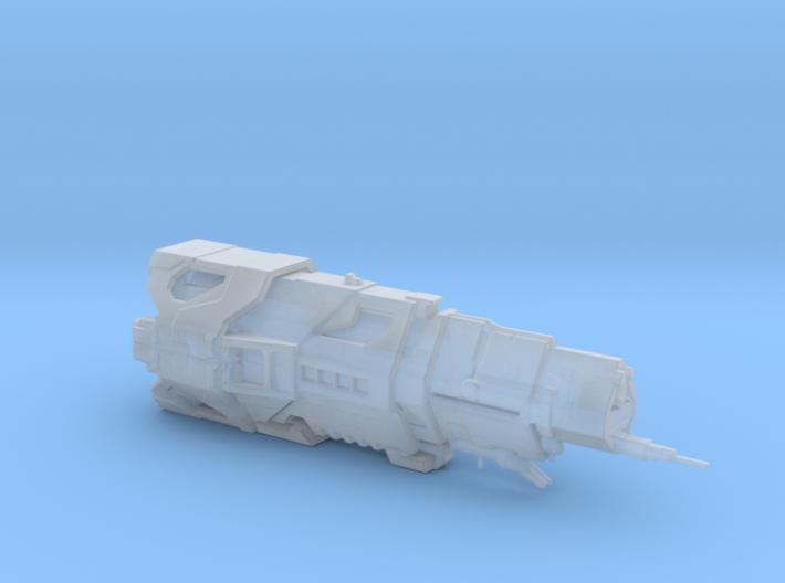 UNSC Halcyon Class Cruiser high detail 3d printed