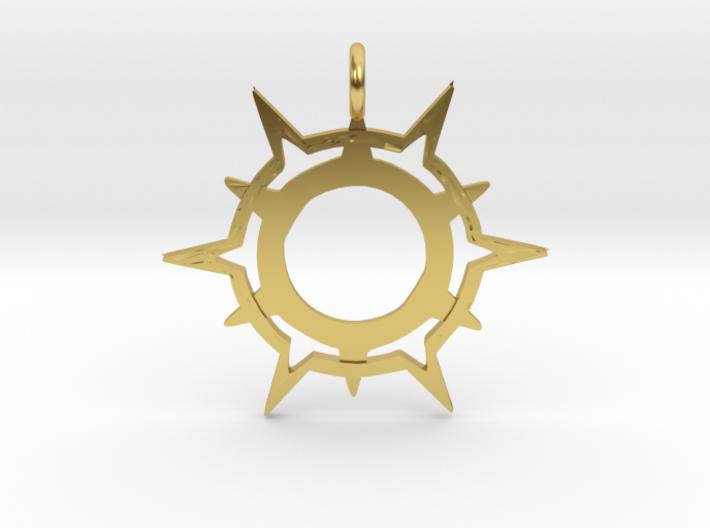 Symbol of Pelor 3d printed