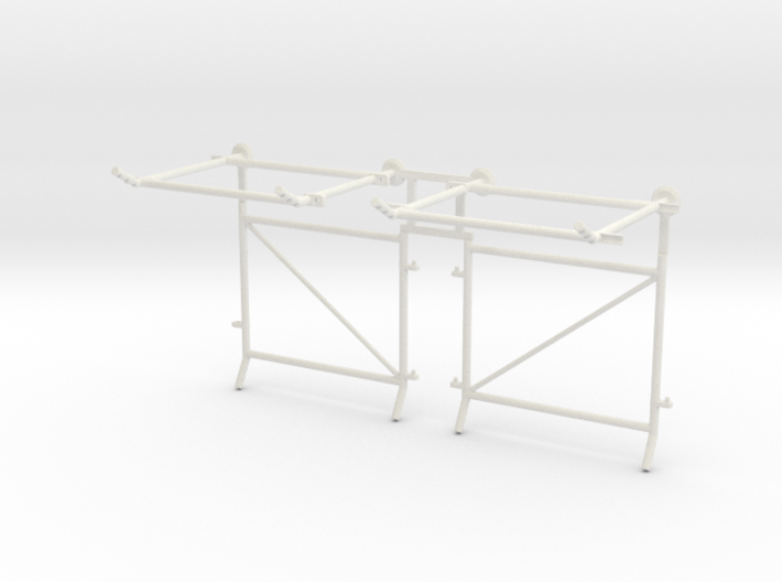 10' Chain-Link Fence Double Gate, L/Latch 3d printed Part # CL-10-015