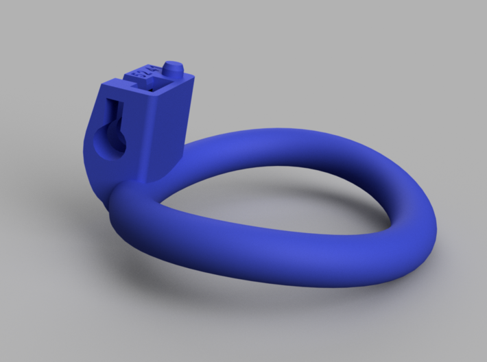 Cherry Keeper Wide Oval Ring - 52mmx41mm 3d printed