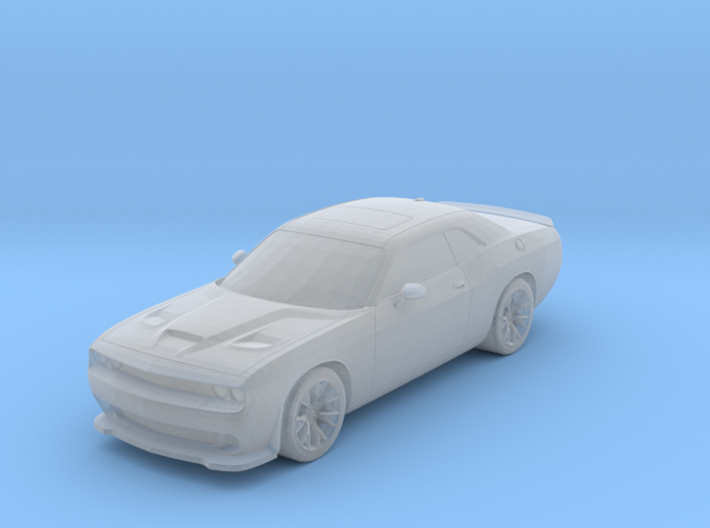 Dodge Challenger 1-87 HO Scale 3d printed