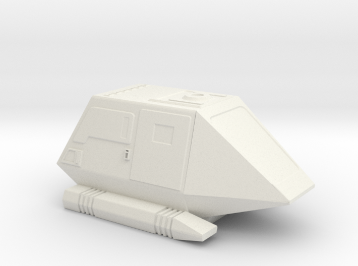 1:72 Type 15 Shuttle Pod 3d printed