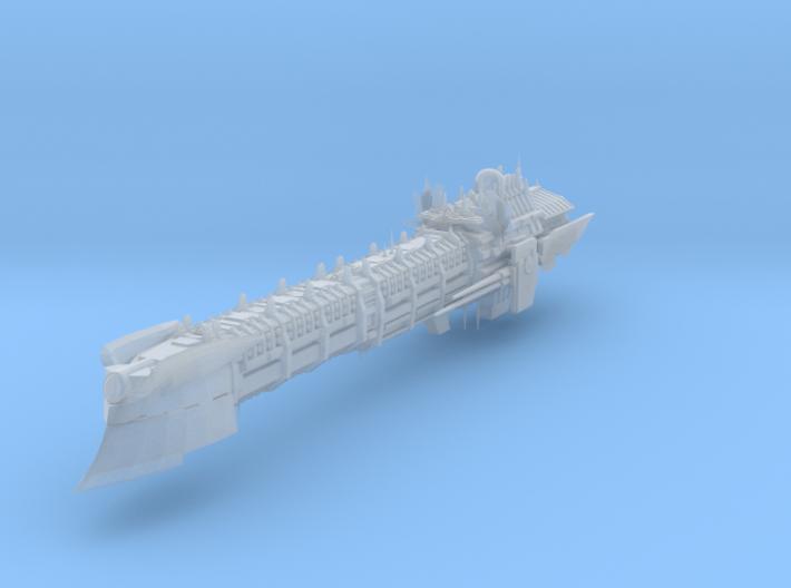 Imperial Legion Long Cruiser - Armament Concept 4 3d printed