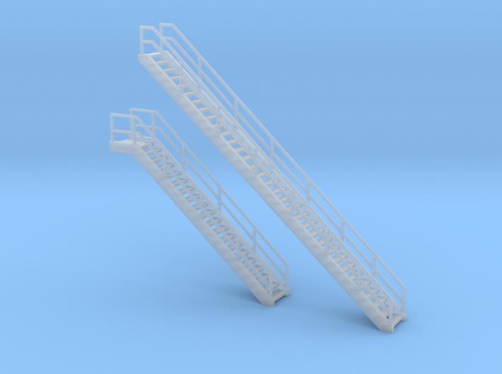 'N Scale' - Coal Loader Stairs 3d printed