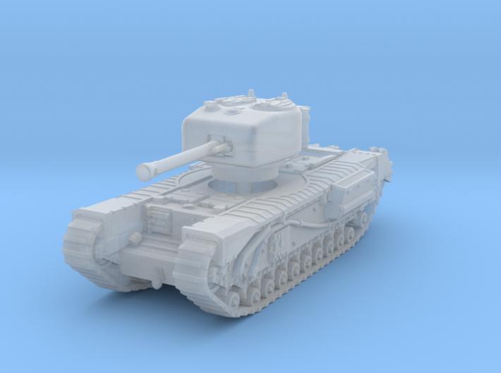 Churchill IV 75mm 1/285 3d printed