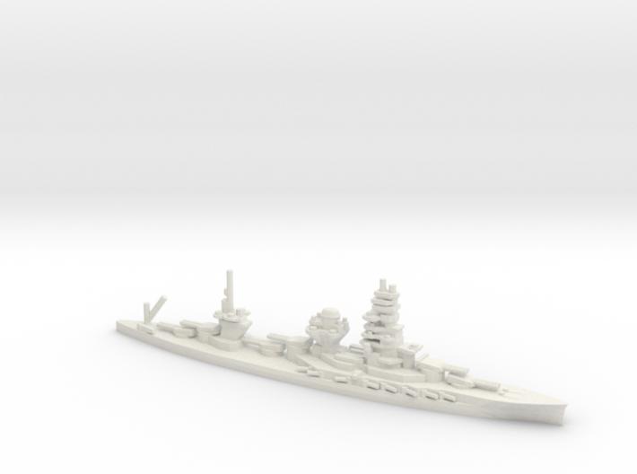 Japanese Ise-Class Battleship 3d printed