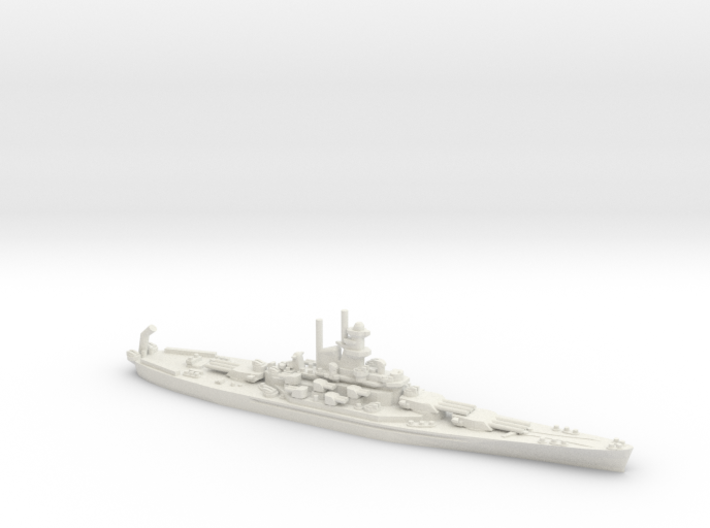 USS Alabama (BB-60) 3d printed