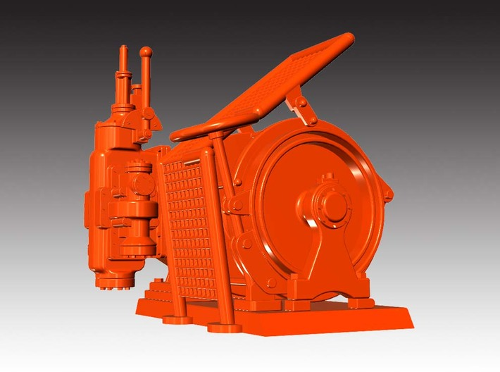 Tugger Winch - 1:50 3d printed