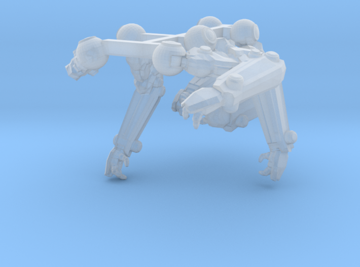 rad-MkII-armset 3d printed