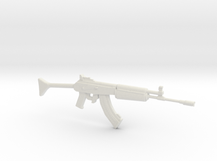 1:12 Miniature RK62 Assault Rifle 3d printed