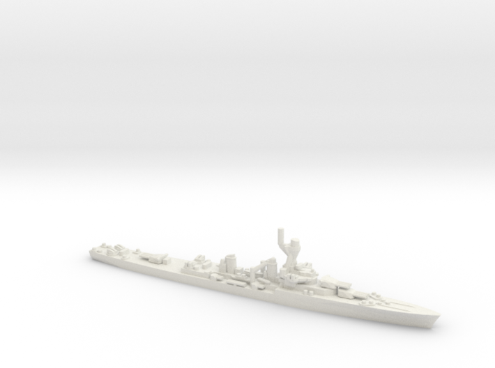 French La Galissonniere-Class Cruiser 3d printed