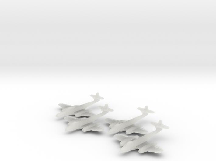 1/600 Meteor Late x3 + NF (FUD) 3d printed
