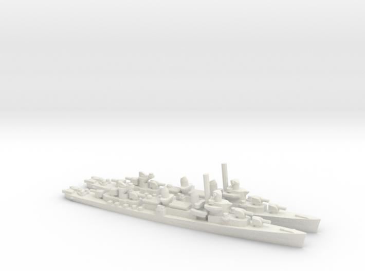 US Fletcher-Class Destroyer (v2) 3d printed
