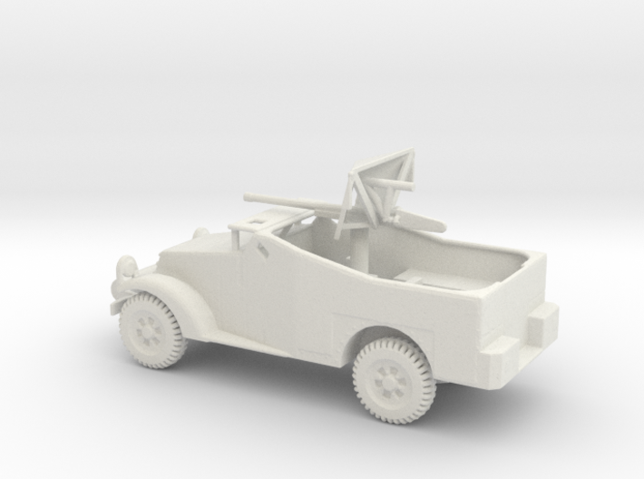 1/87 Scale M2 Scout Car with 37mm Gun 3d printed