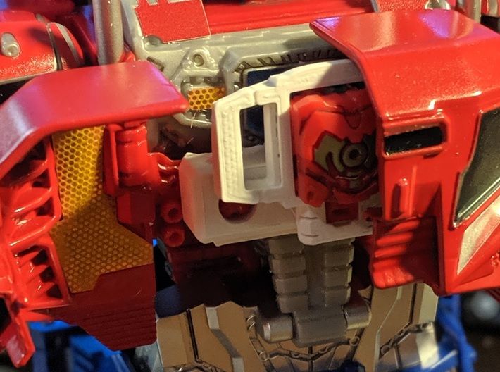 TF CW Truck Matrix adapter 3d printed The Combiner chest can close with these parts inside