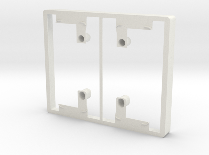 Philips Hue Dimmer Double Gang Plate (US Toggle) 3d printed
