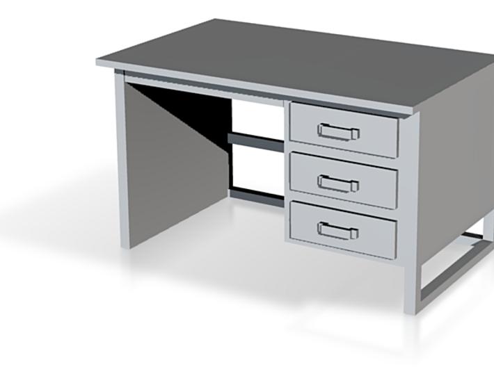 bureaux version final 1 pièce O 3d printed
