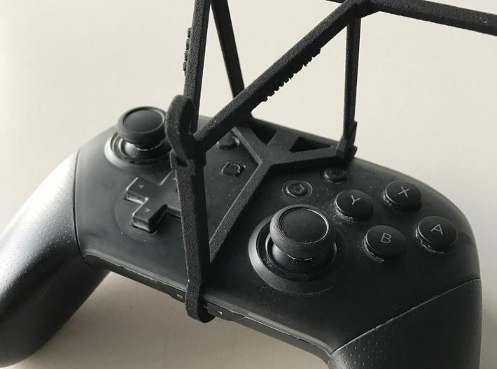 Nintendo Switch Pro controller & vivo Z1 Pro - Ove 3d printed Nintendo Switch Pro controller - Over the top - Barebones
