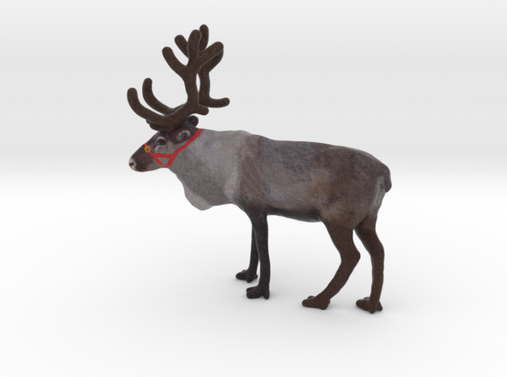 3D Scanned Rendeer  3d printed
