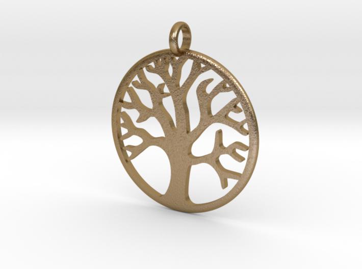 Tree Medallion 3d printed
