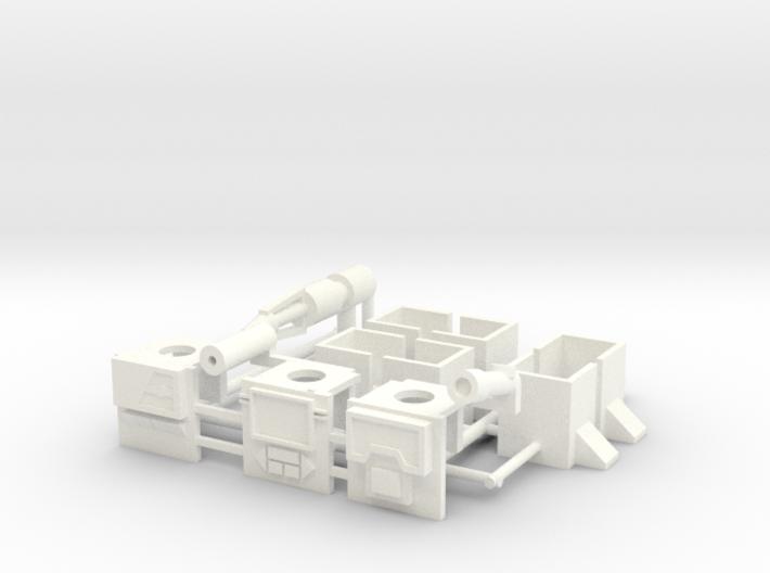 Armor for Soundwave,Blaster,Perceptor Kreons (1/2) 3d printed