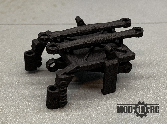 SCX24 Low CG ESC/RX Mount + Shock Towers 3d printed