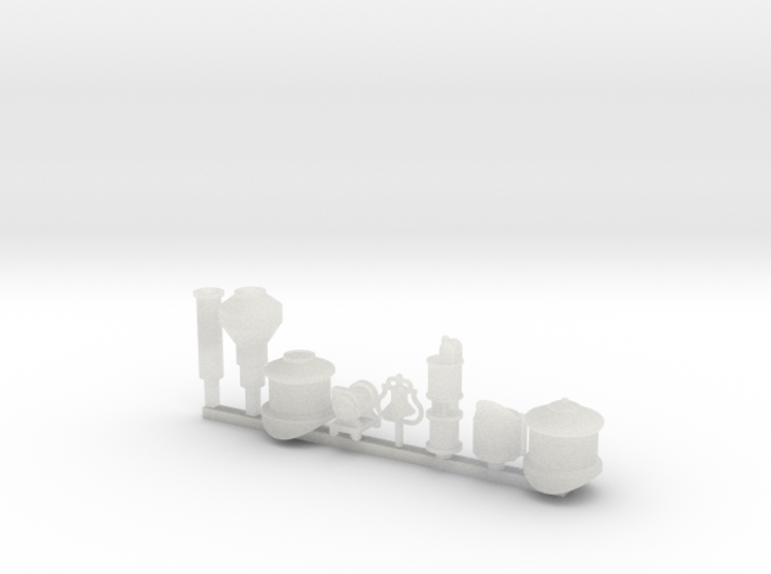 Detail parts for 2-6-0 loco conversion [set B] 3d printed