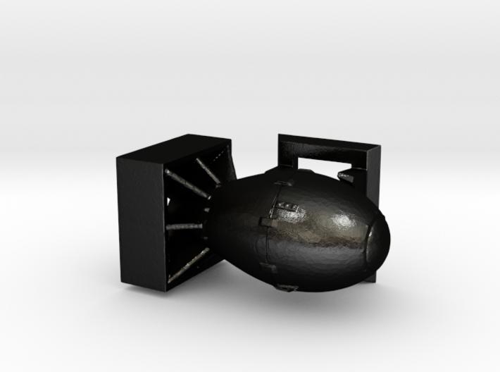 Fat Man - No Antennae 3d printed