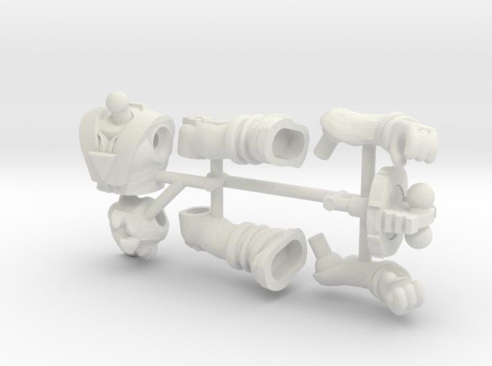 Dino-Riders Rulon Figure Kit 3d printed