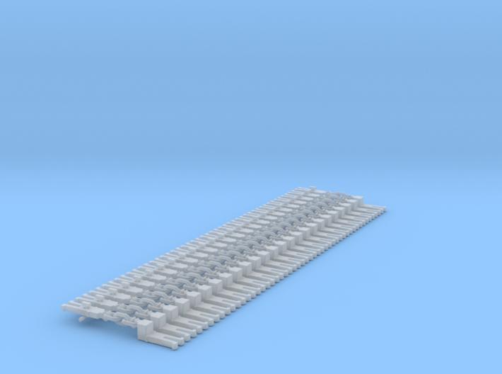 NEM OO Type 12 Couplings - Adaptor 3 Link x25 3d printed