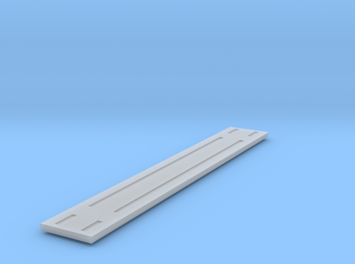 Heavyweight Flatcar - 68 foot - HOscale 3d printed