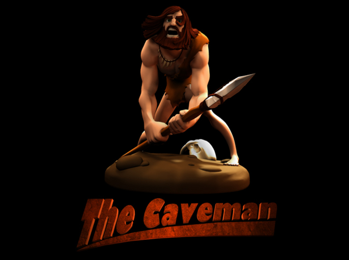 TheCaveman (Medium) 3d printed Title Page