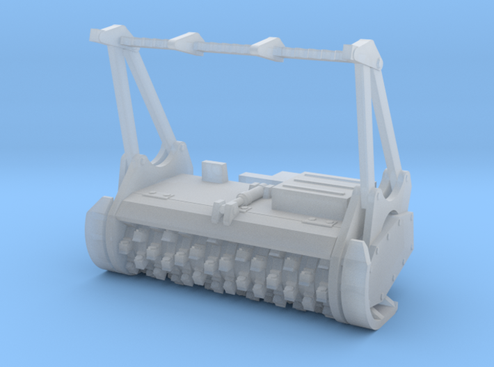 1/50th Forestry Mulching Head for Skid Steer 3d printed