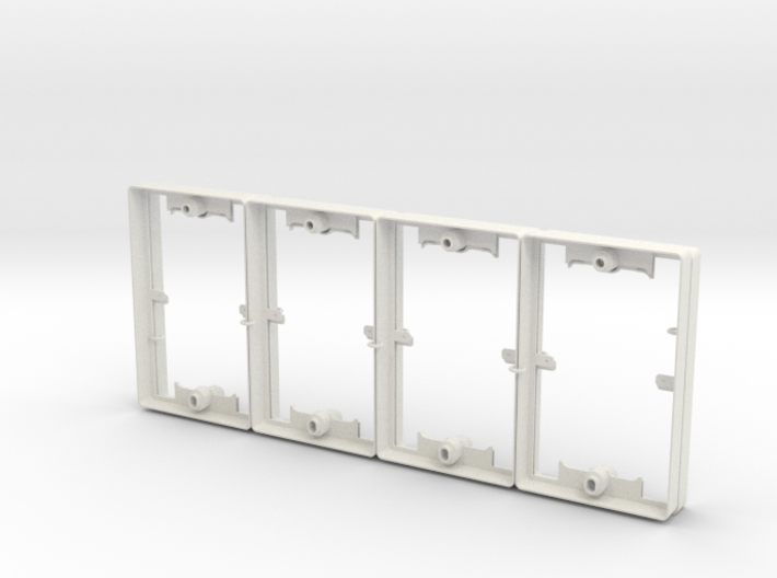 Philips Switch Decora Plate (Set of 8 Discounted) 3d printed