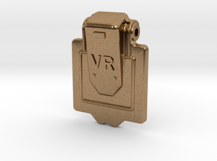 VR Axlebox Oil Cover Lid - 1' scale 3d printed