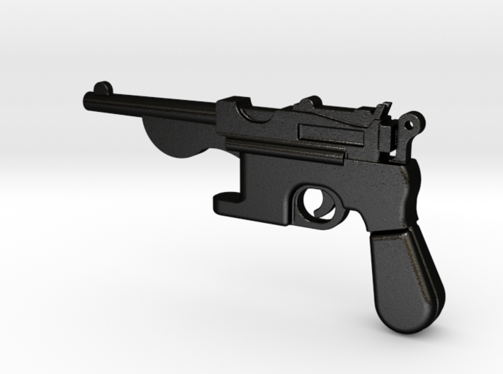 Gun bottle opener 1 3d printed
