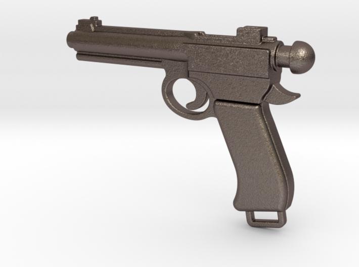 Gun bottle opener 3 3d printed