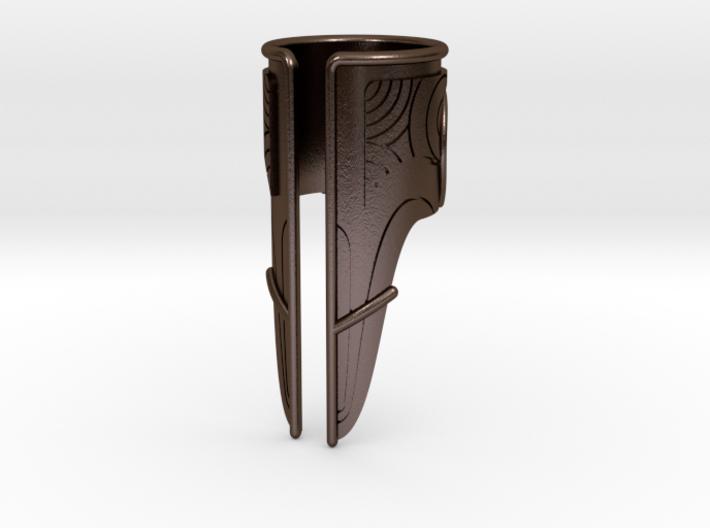 Bakara Armor Ring Size 7 3d printed
