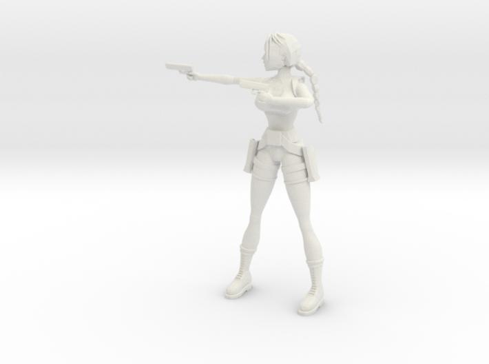 Lara (FMV) 3d printed