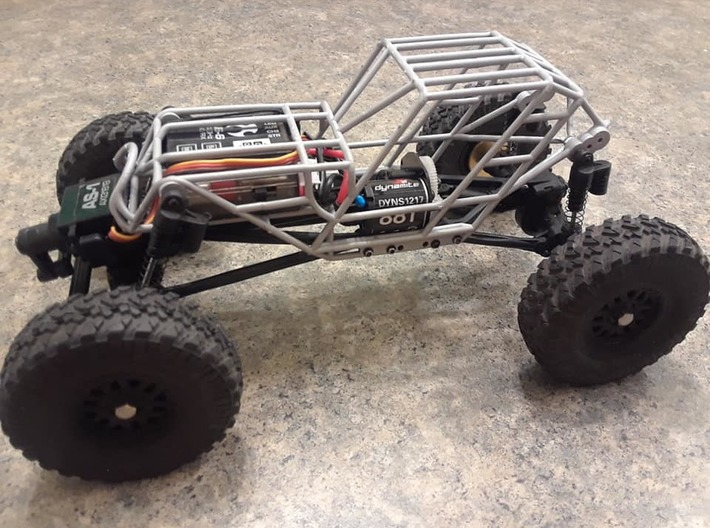 SCX24 Fat Girl Buggy 3d printed