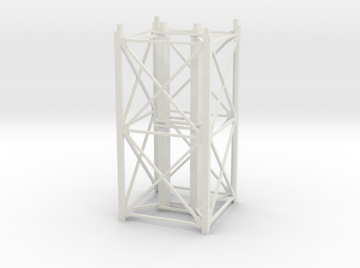 "1/64th ""S"" Scale Grain Leg/Tower 20ft Section 3d printed"